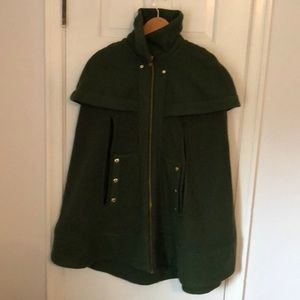 Stylish green Madchen poncho from Anthropologie